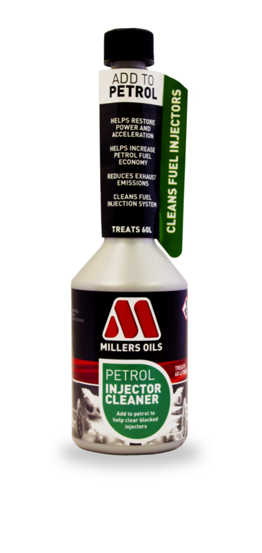 MILLERS OILS Petrol Injector Cleaner - 250 ml