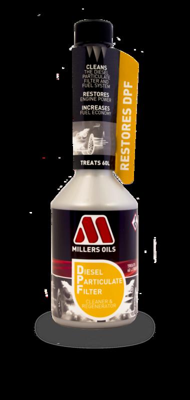 MILLERS OILS PREMIUM DPF Cleaner & Regenerator - 250 ml
