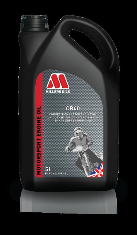 Motorový olej MILLERS OILS CB 40, 5 l