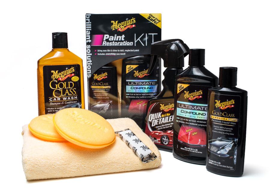 Meguiar's Paint Restoration Kit - kompletní sada pro renovaci laku (Hýčkejte si i Vy svůj vůz špičkovou kvalitní autokosmetikou od Meguiar's - jedničky amerického trhu!)